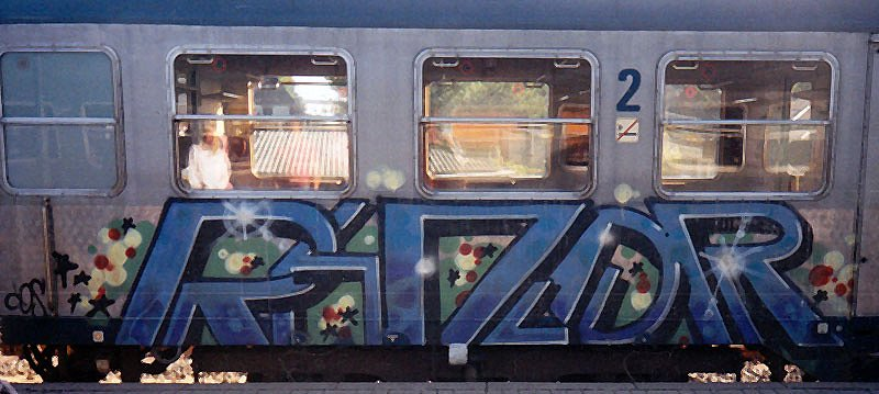 Old School Graffiti from Razor
