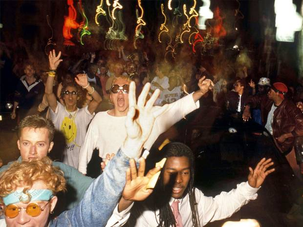 Street party photo - London 1988
