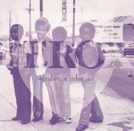 """Ferox Records """"Adventures in Techno Soul"""" Album Cover."""