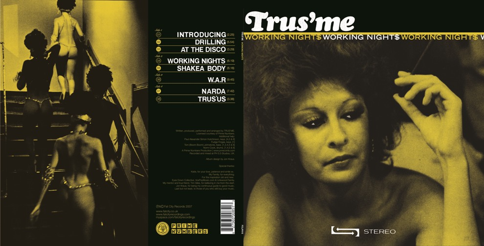Working Nights Sleeve - Trus'me