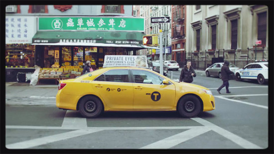Image of a Yellow Cab