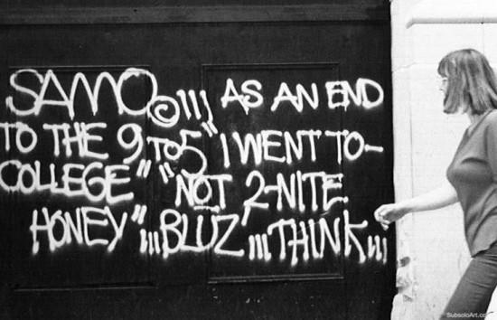 SAMO - Jean Michel Basquiat