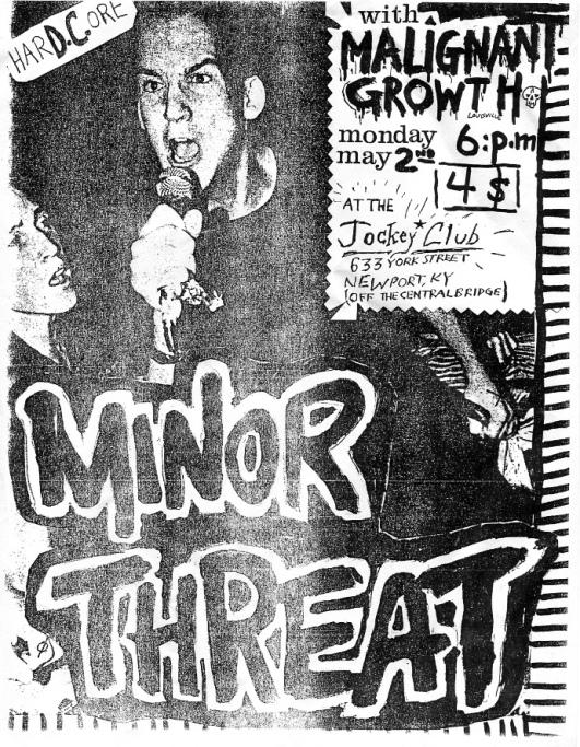Minor Threat Flyer