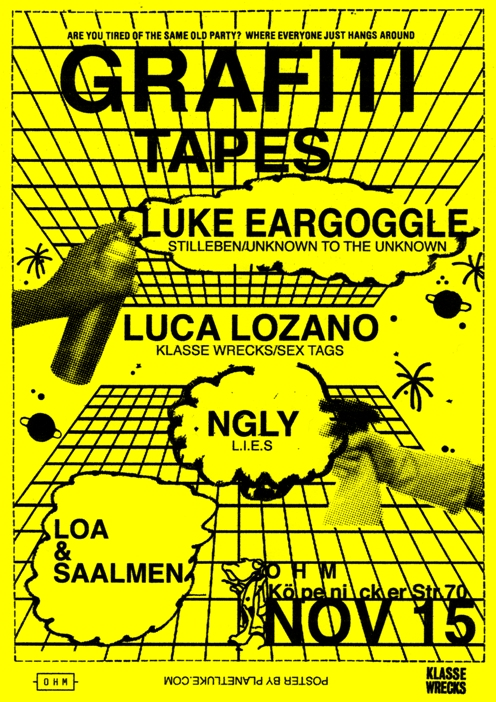 Graffiti Tapes Flyer