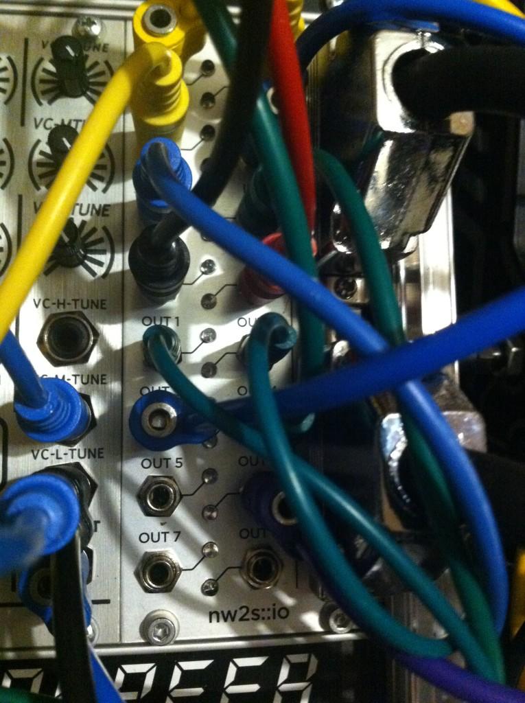 Modular Synthesis - Wiring