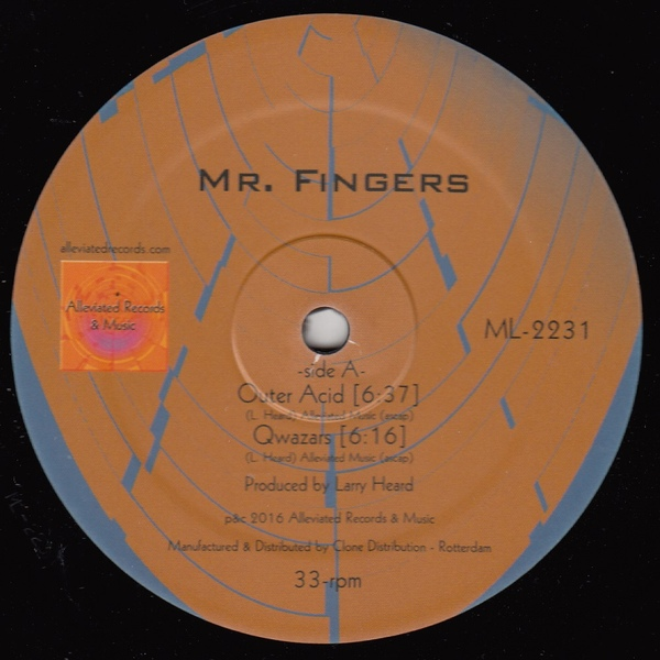 Mr Fingers 2016 EP