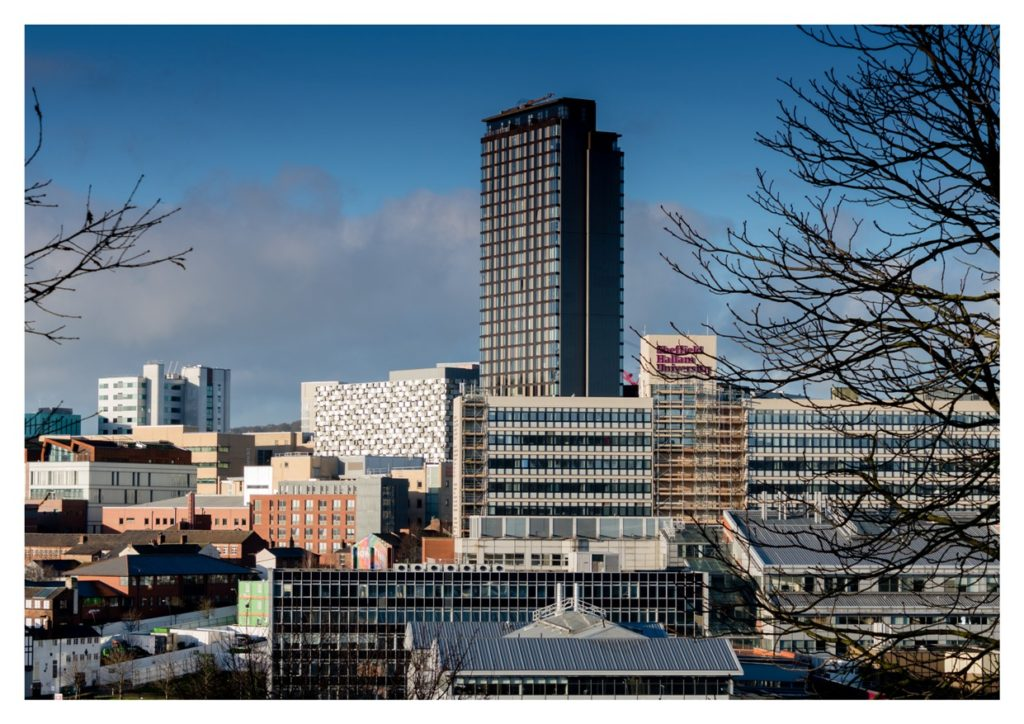 Picture of the Sheffield Skyline taken by Martin Dust.
