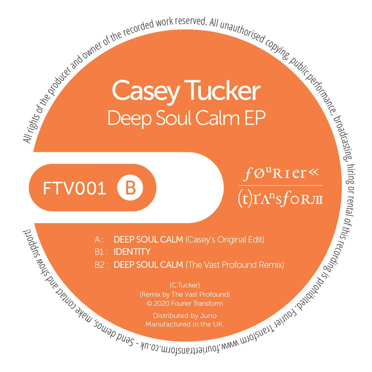 "Artwork for Casey Tucker's ""Deep Soul Calm"" EP."