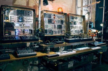 Machines and fun wall at Elevator Sound