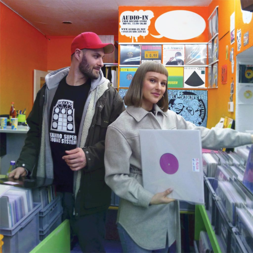 LNS and Dj Sotofett at Audio In record store