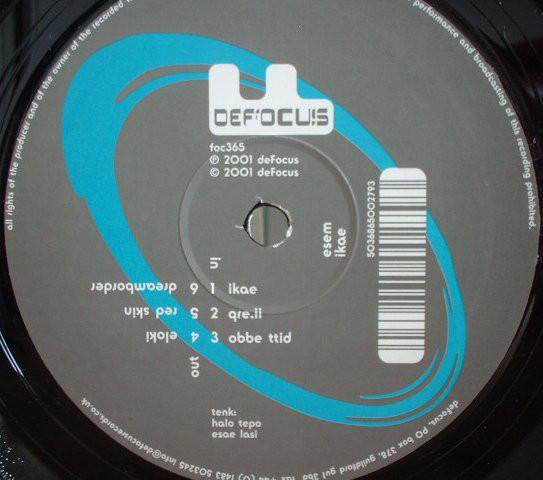 Picture of deFocus centre sticker